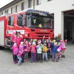 U hasičského auta 1
